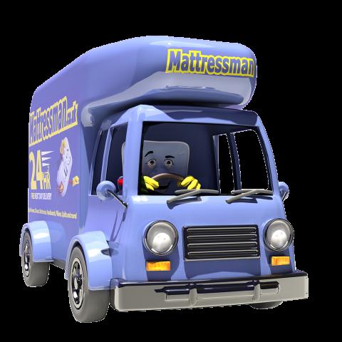mattressman delivery image