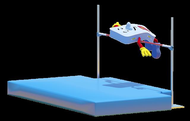 mattressman high jump image